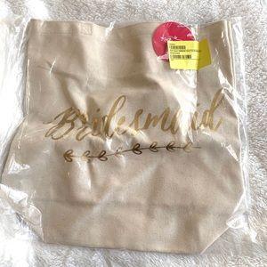 Handbags - NEW Kate Aspen bridesmaid tote